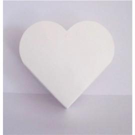 10 Caixinhas Papel Coração Sublimação