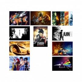 10 Artes Placa Anime CDR