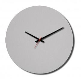 01 Relógio PET Fosco Branco Redondo 28 Cm Sublimável