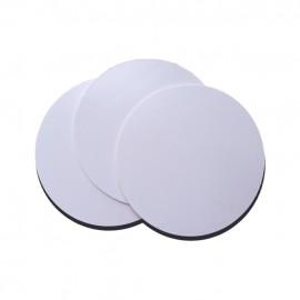 10 Porta-Copos de Fibra PET/PVC 08,5X08,5 Cm para Sublimação
