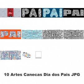 10 Artes Canecas Dia dos Pais JPG