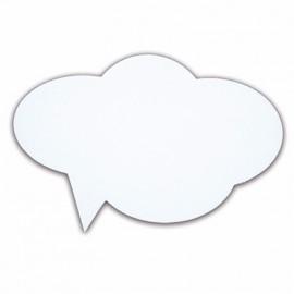 01 Plaquinha de Pensamento PET Balão 17 X 29,5 cm