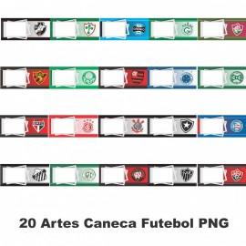 20 Artes Caneca Futebol PNG