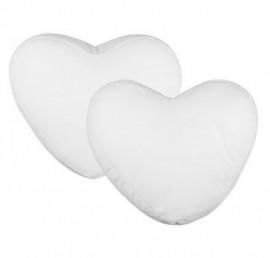 01 Capa Almofada Sublimação 47x32cm Coração