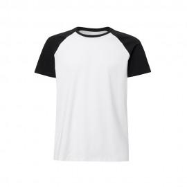 1 Camiseta Masculina Raglan Poliéster