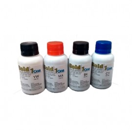 Kit  Tinta Sublimatica Frasco 100 ml 4 cores