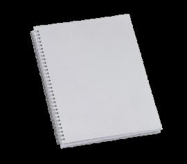5 Cadernos 1/4 Capa Dura PET 48 fls Sublimação