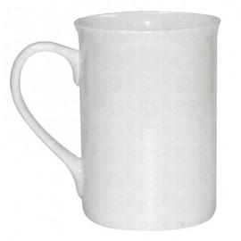 Caneca Chinesa Porcelana Branca