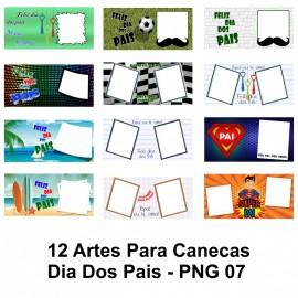 12 Artes Para Canecas Dia Dos Pais - PNG 07