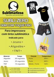 10 Folhas OBM Premium Subli Zero