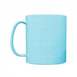 01 Caneca de Polímero Azul BB Para Sublimação