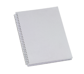5 Cadernos Universitário Capa Dura PET 48 fls Sublimação