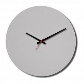 01 Relógio PET Fosco Branco Redondo 19 Cm Sublimável