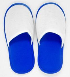 Pantufa Adulto Azul para Sublimação