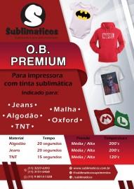 10 Folhas OBM Premium A4 Transfer Algodão Colorido