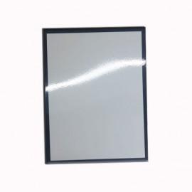 01 Quadro de Metal com Borda Preta 20 x 28 cm Sublimável