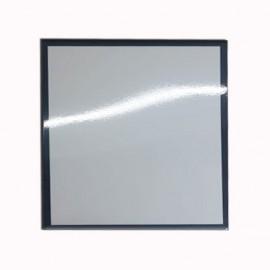 01 Quadro de Metal com Borda Preta 20 x 20 cm Sublimável