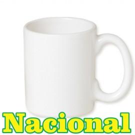 36 Canecas Cerâmica Branca Nacional