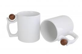 3 Canecas Cerâmica de Basquete 325 ML