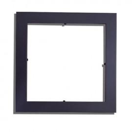 01 Moldura Para Azulejo 15x15cm Preta