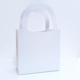 10 Sacolas Cartonada Para Presente  14x22x06 Cm Para Sublimação