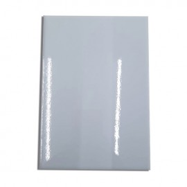 05 Chapas 20x28cm Metal Branca Sublimação