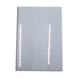 05 Chapas 14x20cm Metal Branca Sublimação