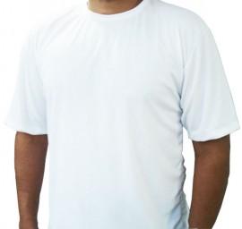 1 Camiseta Masculina Poliéster Sublimação