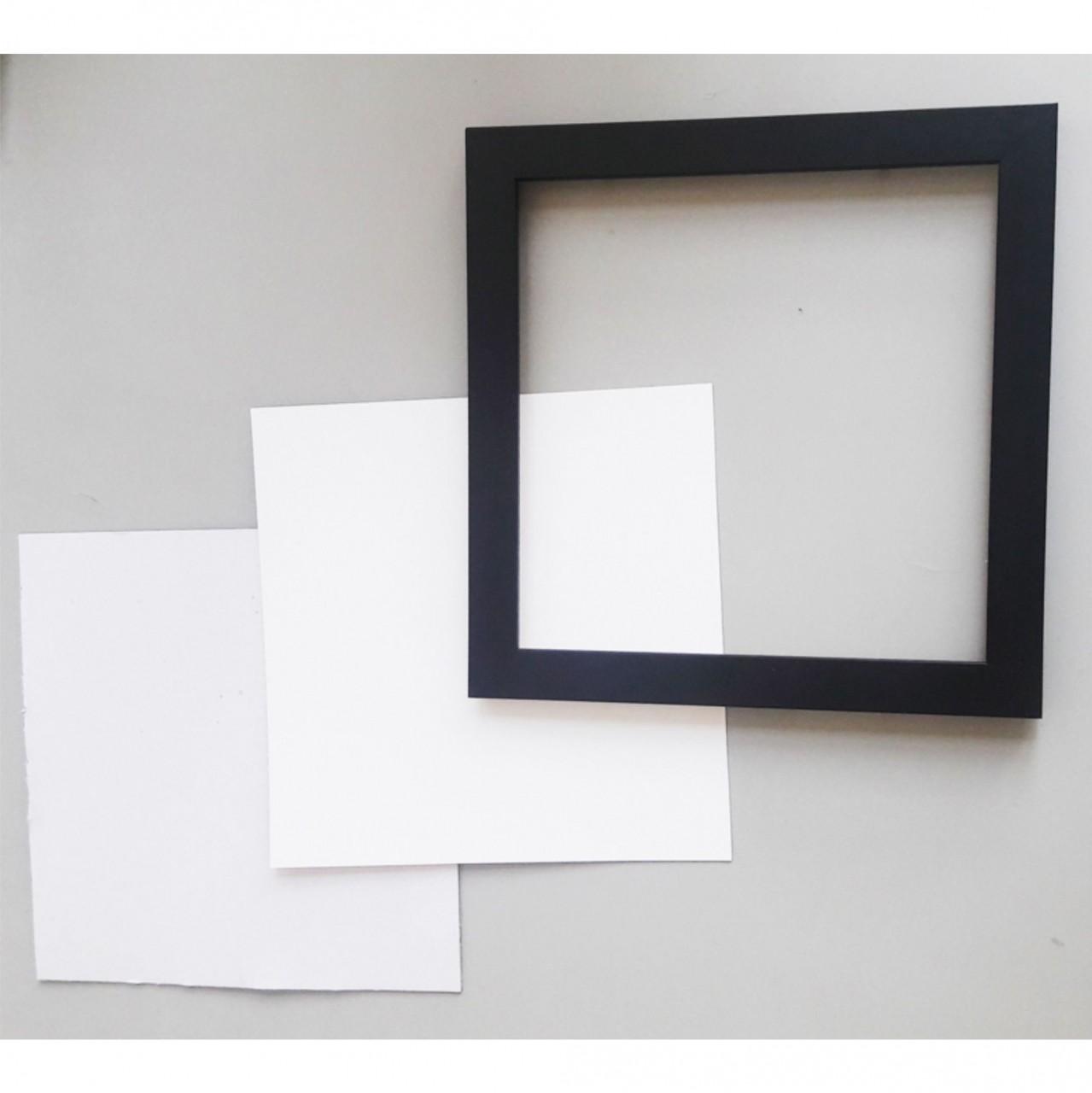 309c26a29 Kit quadro moldura papelão protetor e papel cartão sublimação jpg 1279x1280 Como  fazer molduras para quadros