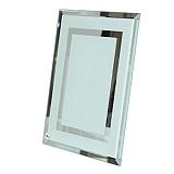 01 Porta Retrato de Vidro  22, 5 x 17,5 cm