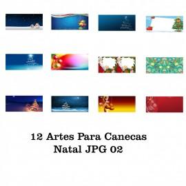 12 Artes Para Caneca Natal - JPG 02