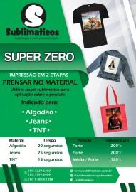 10 Folhas OBM Super Zero 20x30 cm