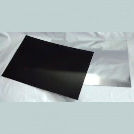 10 Folhas de Imã Metalizado 20x30cm Sublimação