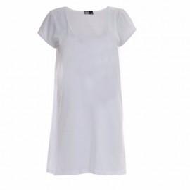 1 Camisola Branca Poliéster Sublimação