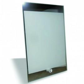 01 Porta Retrato de Vidro Espelhado para Sublimaçã