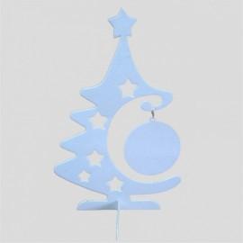 05 Árvore de Natal PET Branco Fosco